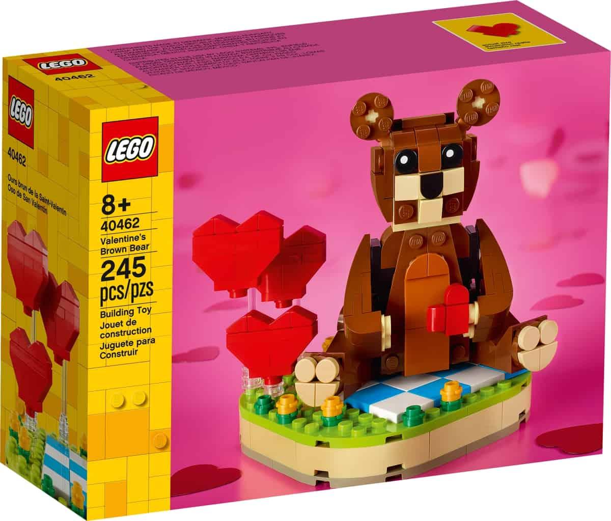 lego 40462 valentynsky medvidek