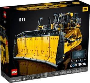 lego 42131 buldozer cat d11 ovladany aplikaci