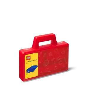 lego 5005769 pruhledny cerveny tridici kufrik na cesty