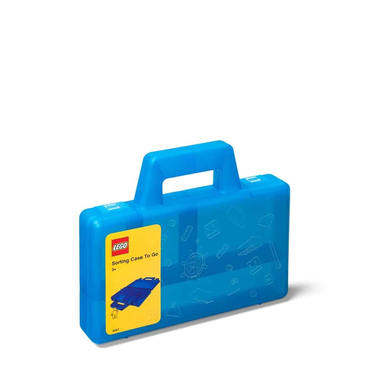 lego 5005890 pruhledny modry tridici kufrik na cesty