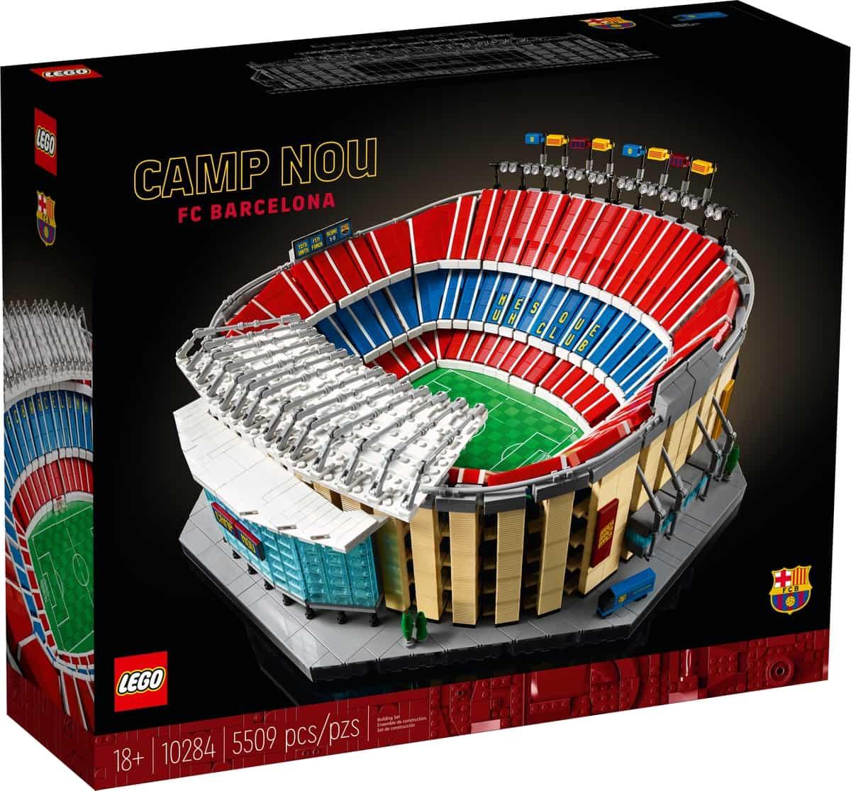 LEGO 10284 Stadion Camp Nou – FC Barcelona
